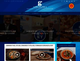 gorgonzola.com screenshot
