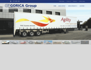 goricagroup.com screenshot
