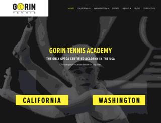 gorintennis.com screenshot
