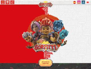gormiti.es screenshot