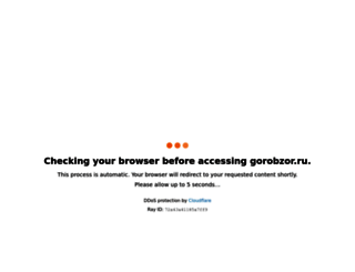 gorobzor.ru screenshot