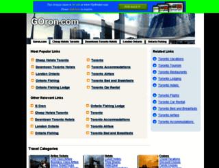 goron.com screenshot