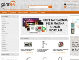 gorsev.com.tr screenshot