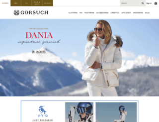 gorsuch.com screenshot