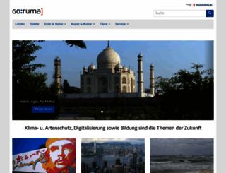 goruma.de screenshot
