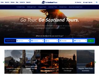 goscotlandtours.com screenshot