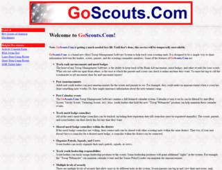 goscouts.com screenshot