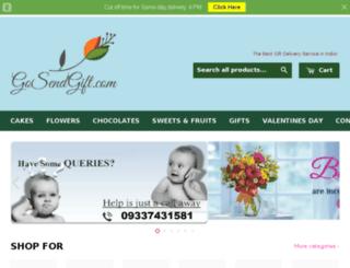 gosendgift.com screenshot