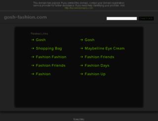 gosh-fashion.com screenshot