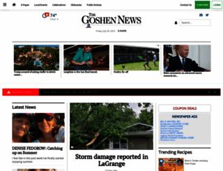 goshennews.com screenshot