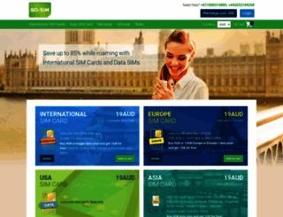 gosim.com screenshot
