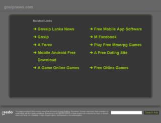 gosipnews.com screenshot