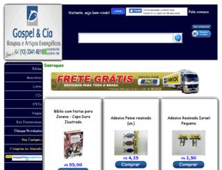 gospelcia.com.br screenshot