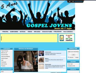 gospeljovens.com.br screenshot