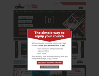 gospelpublishing.com screenshot