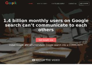 gospik.com screenshot