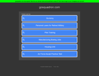 gosquadron.com screenshot