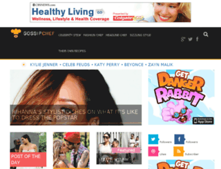 gossipchef.com screenshot