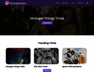 gossiprocks.com screenshot
