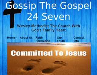 gossipthegospel24seven.co.za screenshot