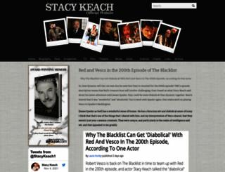 gostacykeach.com screenshot