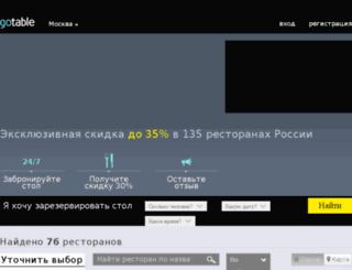 gotable.ru screenshot