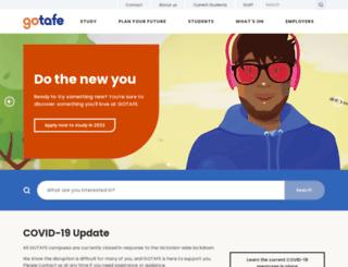 gotafe.vic.edu.au screenshot