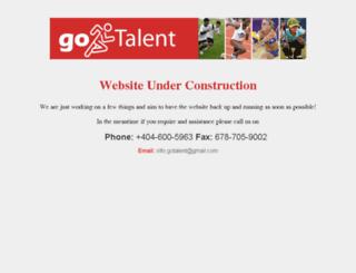 gotalent.org screenshot