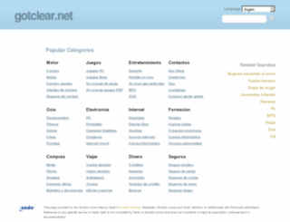 gotclear.net screenshot
