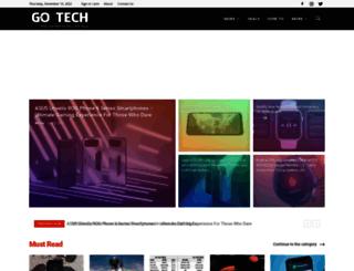 gotech.co.in screenshot