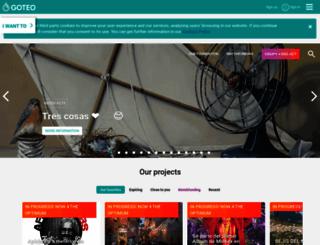 goteo.org screenshot