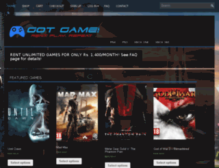 gotgame.pk screenshot