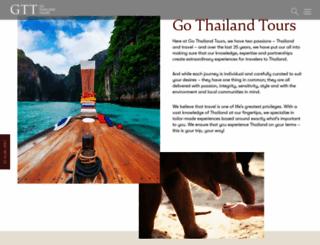 gothailandtours.com screenshot