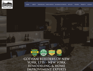 gothambuildersofnewyork.com screenshot