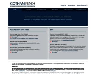 gothamfunds.com screenshot