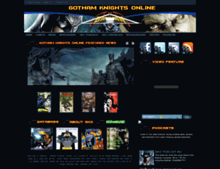 gothamknightsonline.blogspot.com screenshot
