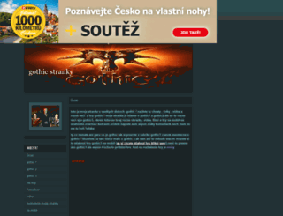 gothiccheaty.estranky.cz screenshot