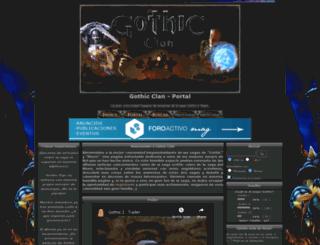 gothicclan.com screenshot