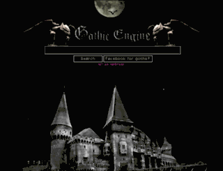 gothicengine.com screenshot