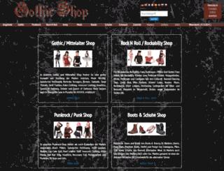 gotik-shop.de screenshot