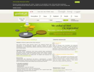 gotlink.pl screenshot