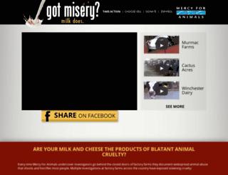 gotmisery.com screenshot