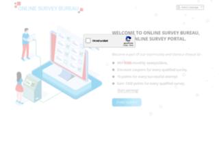 goto.onlinesurveybureau.com screenshot