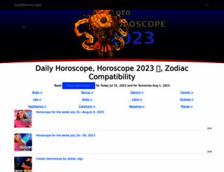 gotohoroscope.com screenshot
