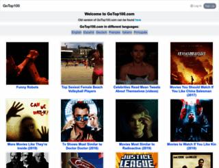 gotop100.com screenshot