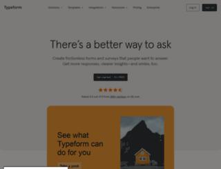 gotoswell.typeform.com screenshot