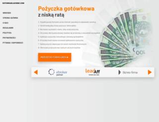gotowkadlaciebie.com screenshot