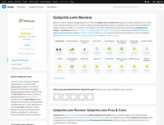 gotprintcom.knoji.com screenshot