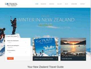 gotravelnewzealand.com screenshot