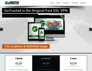 gotrusted.com screenshot